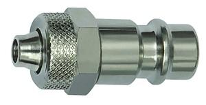 ID: 141538 - Nippel für Kupplungen NW 7,2 - NW 7,8, Stahl, für Schlauch 6x4