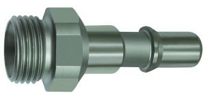 ID: 141972 - Nippel für Kupplungen NW 8, ISO 6150 C, Edelstahl, G 1/2 AG