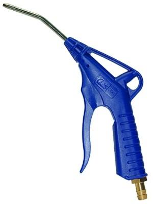 ID: 114397 - Dosierbare Blaspistole 90 mm Rohr, POM, G 1/4, Nippel NW 7,2-7,8