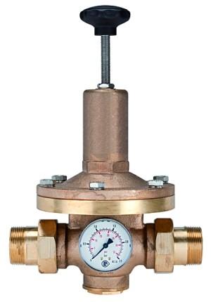 ID: 101338 - Druckregler für Wasser, inkl. Manometer, R 2, 0,2 - 2 bar