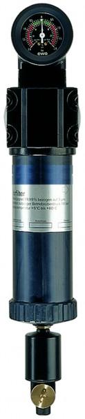 ID: 101544 - Vorfilter mit Differenzdruckmanometer, 2 µm, G 1/4