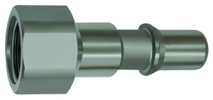 ID: 141968 - Nippel für Kupplungen NW 8, ISO 6150 C, Edelstahl, G 1/2 IG