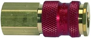 ID: 107675 - Unverwechselbare Schnellverschlusskupplung NW 7,8, G 1/4 IG, rot